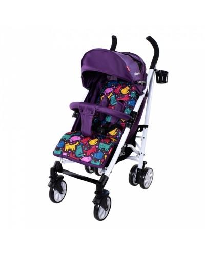 Коляска прогулочная CARRELLO Allegro CRL-10101 Kitty Purple в льне 86x51х105