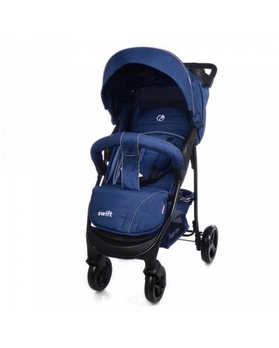 Коляска прогулочная BABYCARE Swift BC-11201 Blue в льне 92x51х102