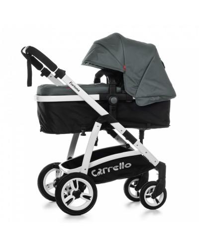 Коляска прогулочная CARRELLO Fortuna CRL-9001 Shade Grey 2в1 c матрасом 100x61х105