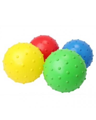 """Мяч 6"""" ежик BT-PB-0097 120г микс цветов сетка ш.к./250/"""