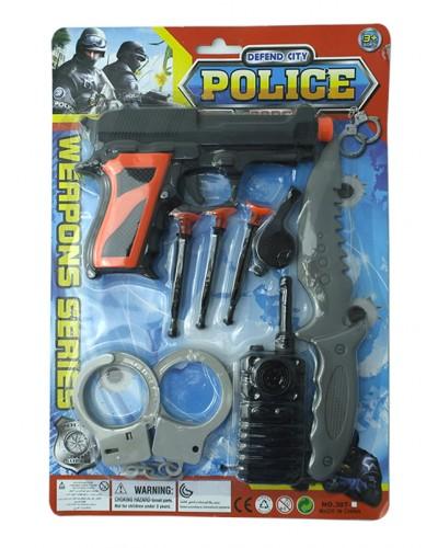 Полицейский набор 307-7 лист 31*3*21 /216/