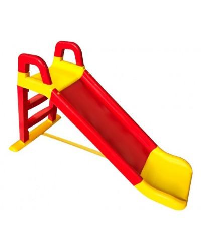 Детская горка для катания Doloni 0140/02 (Цвет красно-желтый) 80х43х25