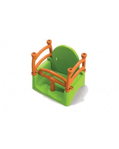 Подвесная качеля Doloni 0152/1 (Цвет салатово-оранжевый)