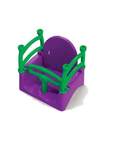 Подвесная качеля Doloni 0152/5 (Цвет фиолетово-салатовый)