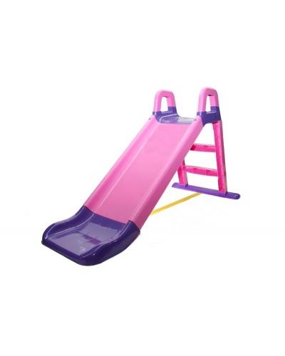 Детская горка для катания Doloni 0140/05 (Цвет фиолетово-розовый) 80х43х25