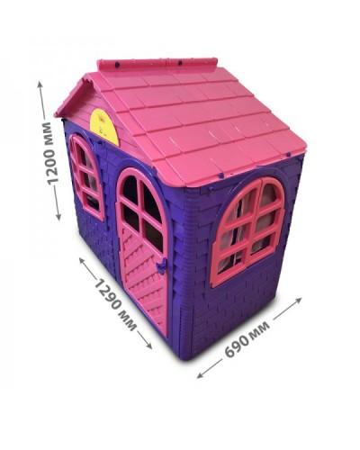 Детский игровой домик со шторками Doloni 02550/10 (Цвет Розово-фиолетовый)