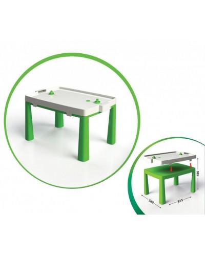 Стіл дитячий+комплект для гри 04580/2 Стол детский + комплект для игры, зеленый Doloni Долони