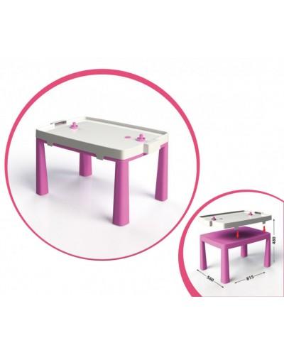 Стіл дитячий + комплект для гри 04580/3 Стол детский + комплект для игры, розовый Doloni Долони