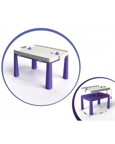 Стіл дитячий + комплект для гри 04580/4 Стол детский + комплект для игры, фиолетовый Doloni Долони