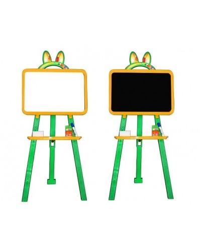 Доска для рисования (мольберт) магнитная, двухсторонняя Doloni 013777/2 (Цвет Желто-зеленый)