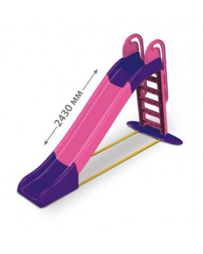 Детская горка для катания водяная Doloni 014550/9 (Цвет розово-фиолетовый)
