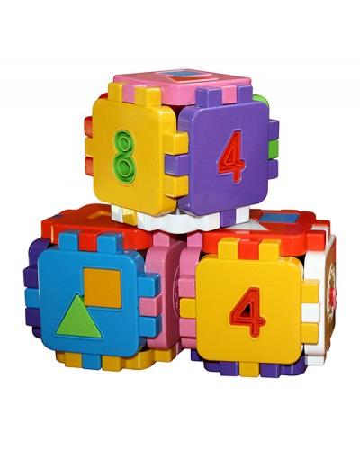 """Іграшка дитяча """"Кубик-логіка"""" 013120"""