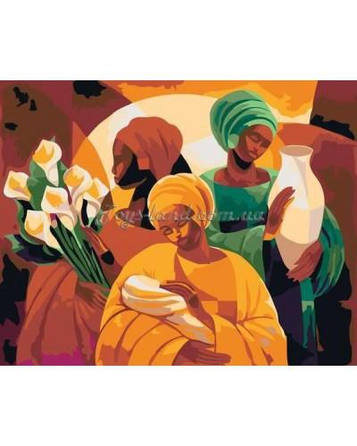 "Картина по номерам Люди ""Подарки жизни"" 40х50 см, арт. 2636, Идейка"