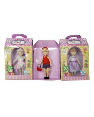 "Кукла ""Olivia"" 2092  серия ""Classic"", 10 видов, с аксессуаром, в коробке 16*6*28см"