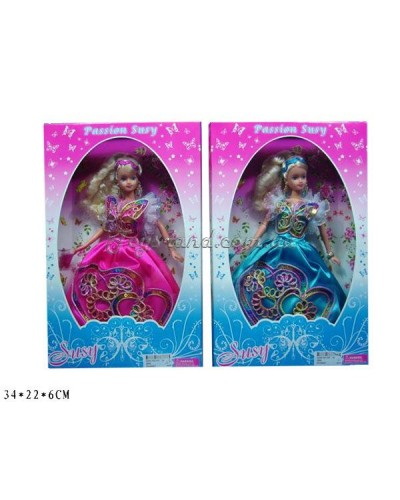 """Кукла """"Susy"""" 2909 2 вида в коробке 34*22*6 см"""