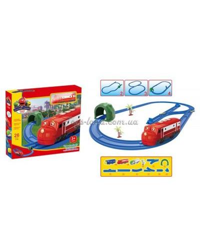 Железная дорога батар. в коробке 39,5*34*6см