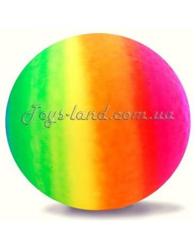 """Мяч резиновый """"Радуга"""", D 45 см/ 350 г, арт. 104"""