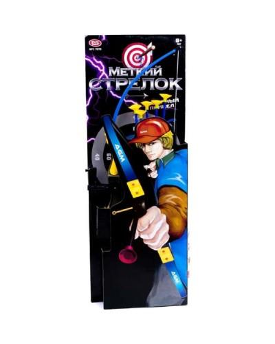 "Лук PLAY SMART 2119(7270) ""Меткий стрелок"" со стрелами кор.89*32*5"