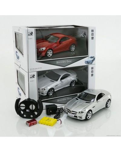 Машина аккум. р/у 28214 Mercedes, 3цвета, в коробке