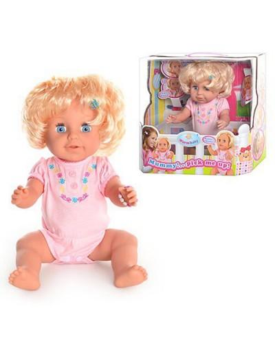 Кукла функц батар  RT05065 шевелит руками и головой, звук, 40 см, в кор.39*36*19см