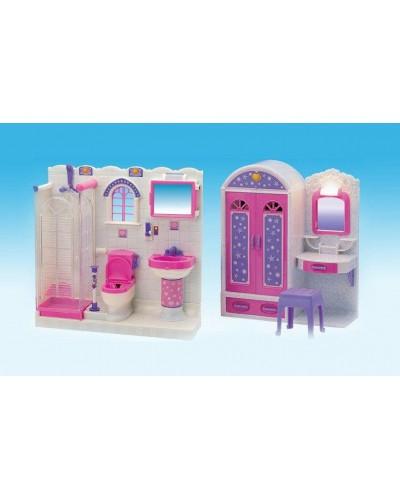 Мебель Gloria 2009-11-1 ванная комната+шкаф кор. 52*35*9,5 /6/