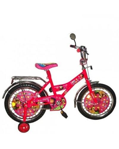 "Велосипед 2-х колес 20"" 132012 со звонком, зеркалом, вставками в колесах, арт. 132012 (шт.)"