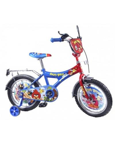 Велосипед 2-х колес 20'' 142006 со звонком, зеркалом, с вставками в колесах