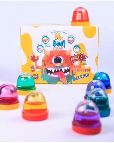 Антистрес-лизун Mr.Boo з блискітками 100г