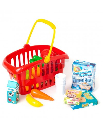 "Корзина с фруктами и овощами ""Супермаркет"", арт. 362 в 2, Орион"