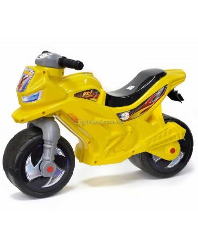 Мотоцикл 2-х колёсный с сигналом (лимонный), арт. 501в.3 ЛИМ, Орион