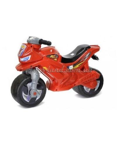 Мотоцикл 2-х колёсный с сигналом (красный), арт. 501в.3 ЧЕР, Орион
