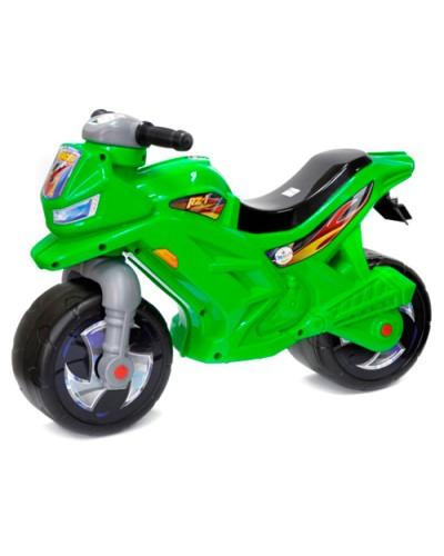 Мотоцикл 2-х колёсный с сигналом (зелёный), арт. 501в.3 ЗЕЛ, Орион