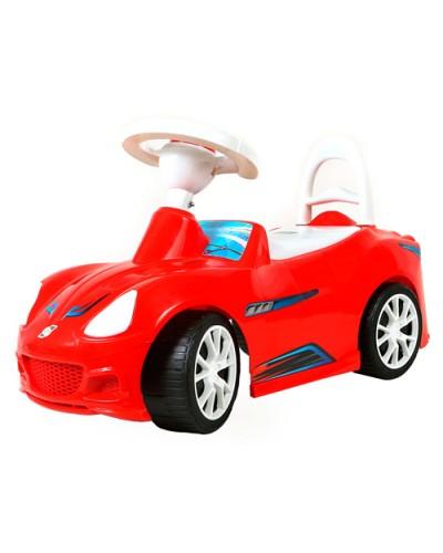 Машинка для катания  СПОРТ КАР красная