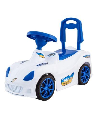 Машинка для катания СПОРТ КАР белая