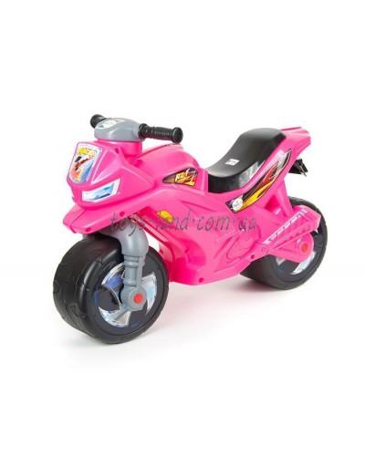 МОТОЦИКЛ 2-х колесный ярко-розовый