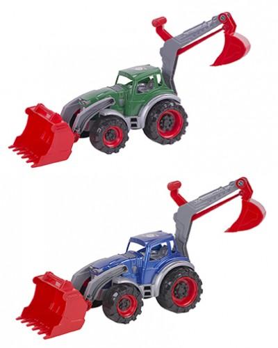 Трактор Texas навантажувач-екскаватор 455х180х280 мм