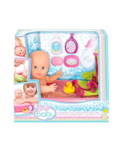 Кукла 32см с ванночкой для купания; 3+