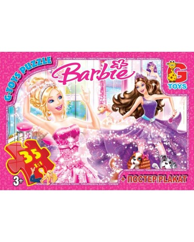 """Пазлы """"Barbie"""", 35 ел"""