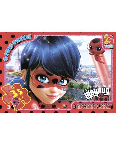 "Пазли ТМ ""G-Toys"" із серії ""Леді Баг"", 35 елементів"