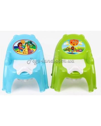 Горшок детский - кресло (2 цвета), арт. 4074, ТехноК