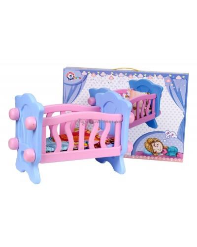 Кроватка для куклы, арт. 4166, ТехноК
