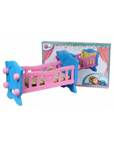 Кроватка для куклы, арт. 4173, ТехноК