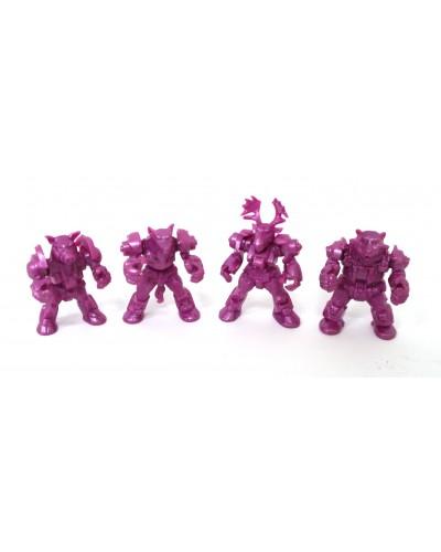 Арктика загін ЗвеРоботов 4 фігурки (колір рожевий), арт. 00062_1, Технолог