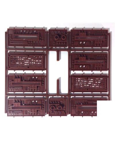 Скайтьюб - отливка №5 00200_8*Тх Стена строительный набор, Технолог
