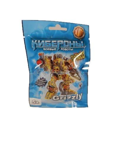 Грізлі (Grizzly) МІНІ Cyberon конструктор бойового робота, арт. 00731, Технолог