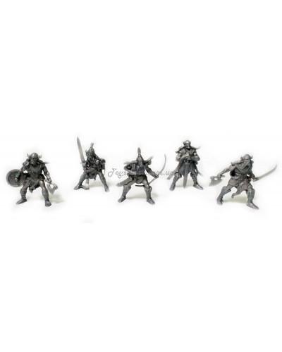 Варгейм Вікінги Битви Fantasy набір воїнів (колір сірий), арт. 00068_3, Технолог