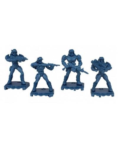 Пехота Унитары отряд Robogear (без коробки), арт. 0109 Технолог