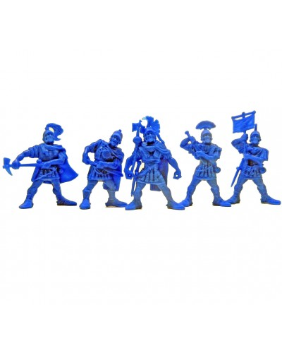 "Варгейм Набор воинов ""Легион Сатурн"" без коробки (5 воинов/ цвет темно-голубой), Fantasy"