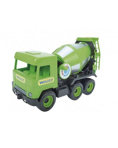 """Авто """"Middle truck"""" бетонозмішувач (св. зелений) в коробці"""