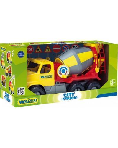 "Авто ""City Truck"" бетономешалка, в коробке"